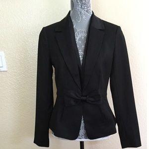 White House Black Market Modern Bow Jacket Blazer